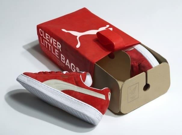La boite à chaussures de Puma se met au vert – L'EMBALLAGE