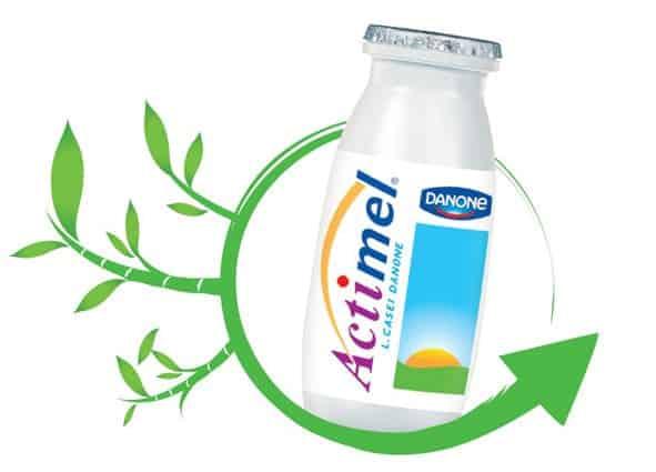 La fiole sera, dès avril, en plastique dérivé de canne à sucre.