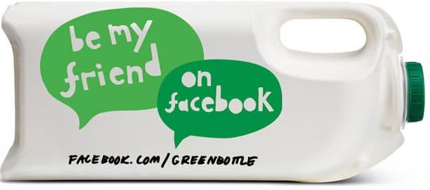 En Angleterre, la bouteille de lait devient verte ! - www.lemballageecologique.com
