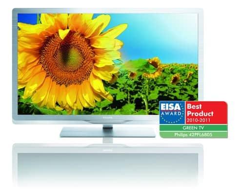 Un emballage écologique pour le nouveau téléviseur de Philips