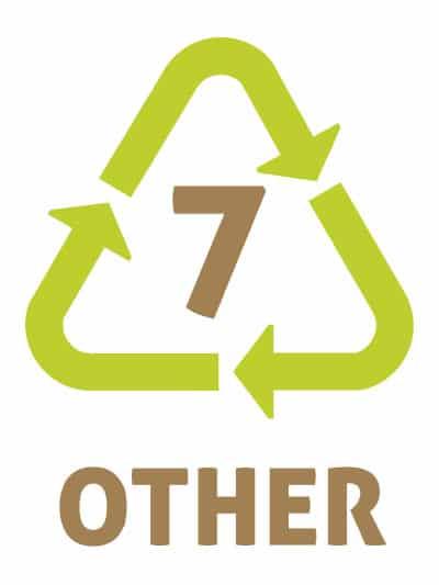 OTHER -Les symboles du recyclage plastique 7 - Autres plastiques