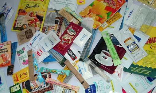 Les emballages dans notre vie quotidienne