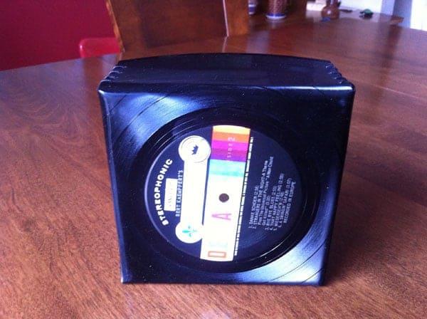 Recyclage intelligent d'un disque vinyle