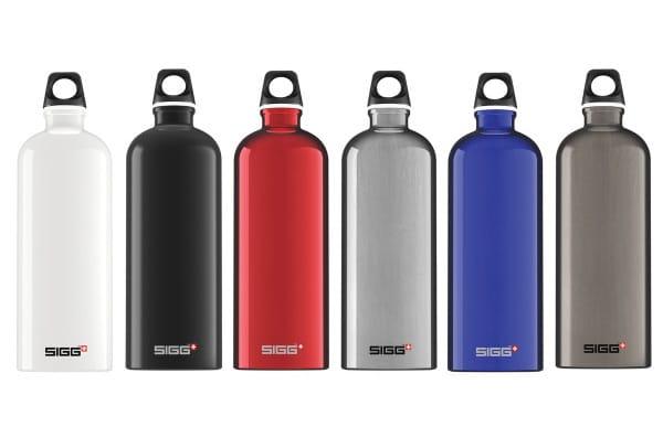 Acheter une gourde : les bouteilles réutilisables en aluminium de la marque SIGG