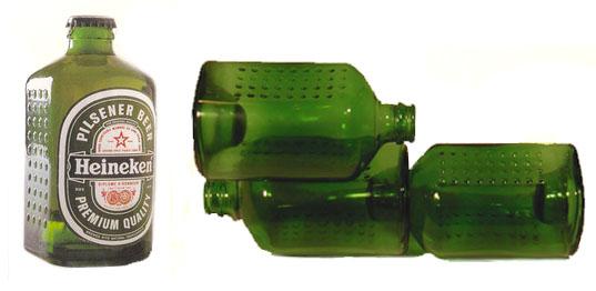 La bouteille écologique Heineken Wobo