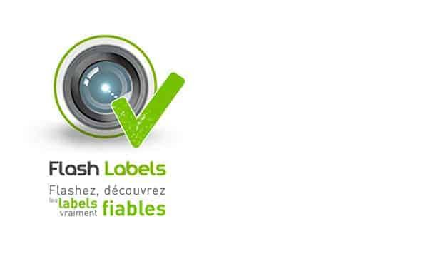 L'application Flash Labels pour iPhone