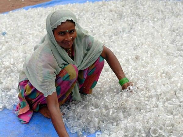 Le recyclage des déchets en Inde