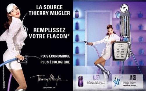 Le concept du ressourçage par Thierry Mugler
