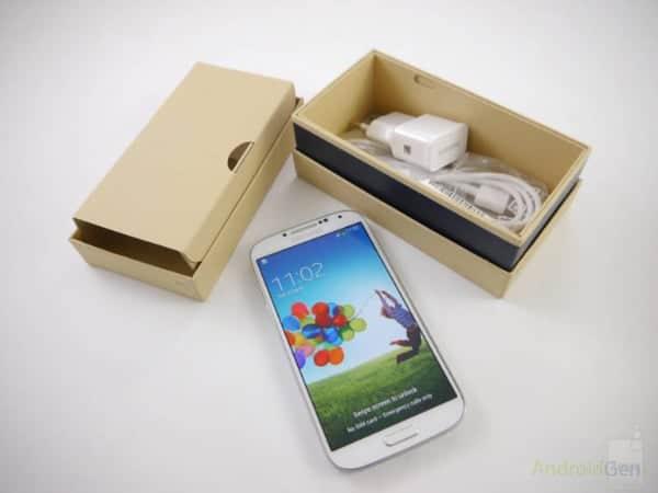 Un éco-emballage pour le Samsung GALAXY S IV et la GALAXY Note 8.0