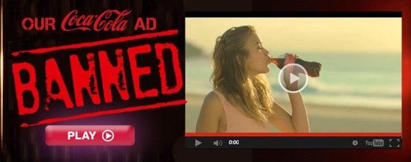 Une publicité dérangeante retirée des ondes