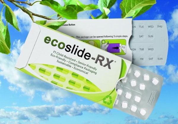 L'emballage écologique  ecoslide-RX