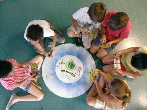 Tri Master, un programme de sensibilisation au tri et au recyclage pour les enfants de 6à11 ans.