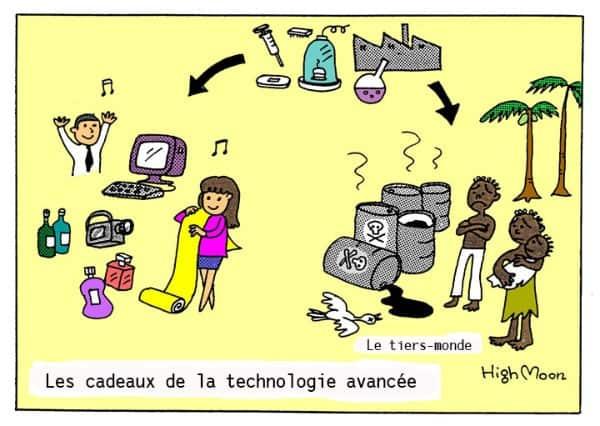 Les cadeaux de la technologie avancée
