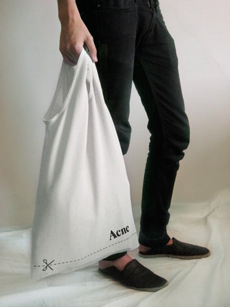 Acne - Sac tee-shirt