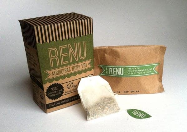 Renu Herbs packaging