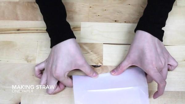 Straw Pak, l'emballage qui intègre une paille
