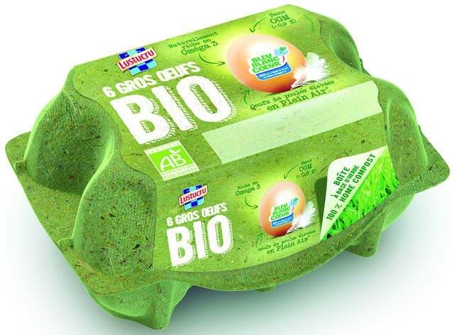 Une boite 100% compostable et biodégradable
