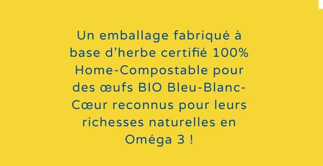 boite 100% compostable et biodégradable Lustucru