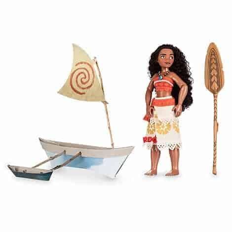 L'emballage de Disney pour la poupée Vaiana