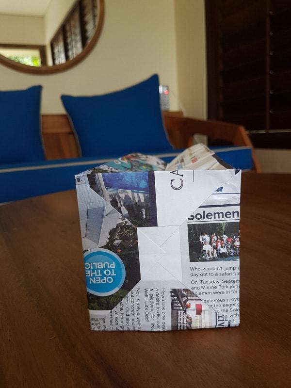 Sac en papier recyclé - Komaneka At Tanggayuda