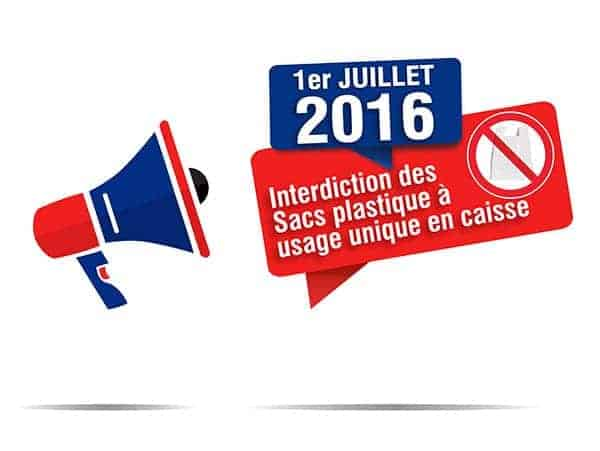 Interdiction des sacs plastiques
