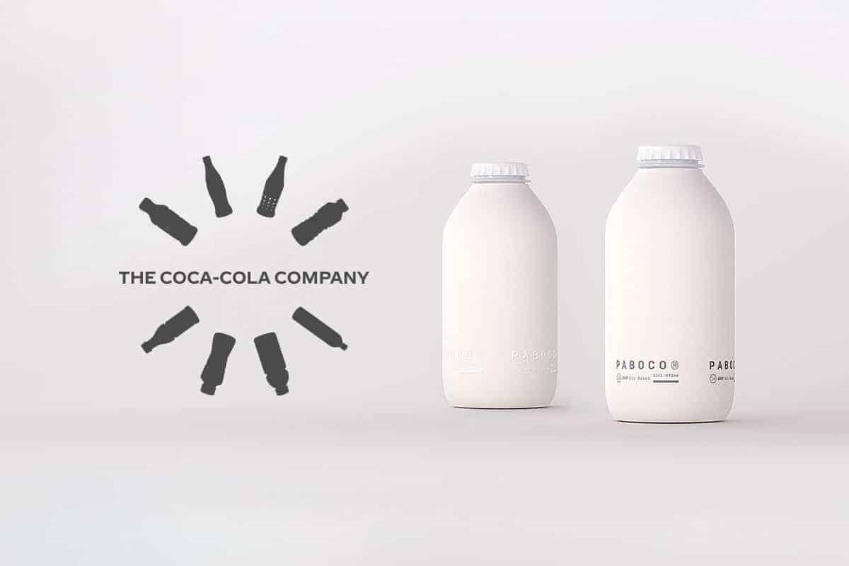Bouteille en papier de Coca-Cola