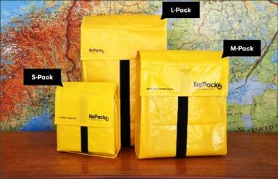 Enveloppe réutilisable RePAck