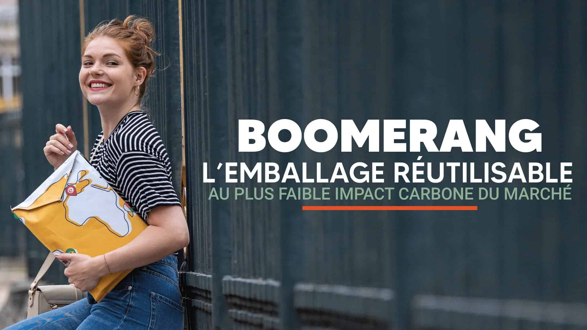 Boomerang - Emballage réutilisable