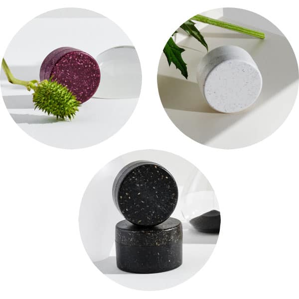 Pots pour la cosmétique