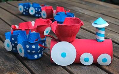 Boîte à œufs réutilisable pour les enfants DIY