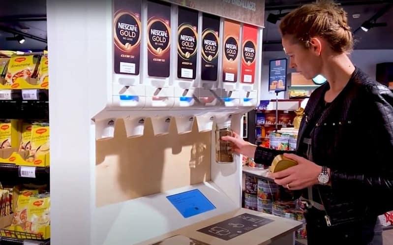 Distributeur MIWA - Café soluble Nestlé
